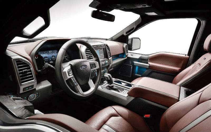 2018 Ford F-150 Interior Cabin Front