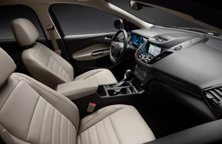 2017 Ford Escape interior front