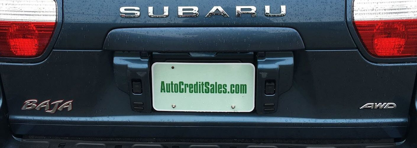 About Auto Credit Sales