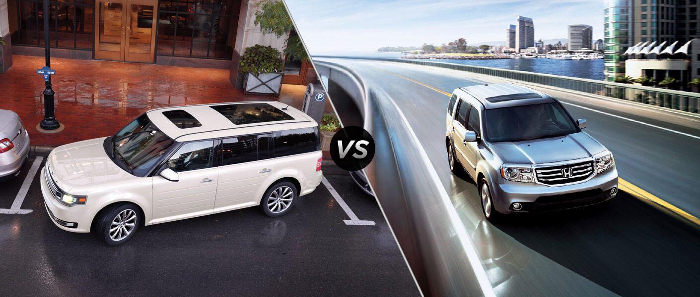 2013 Ford Flex vs. 2013 Honda Pilot