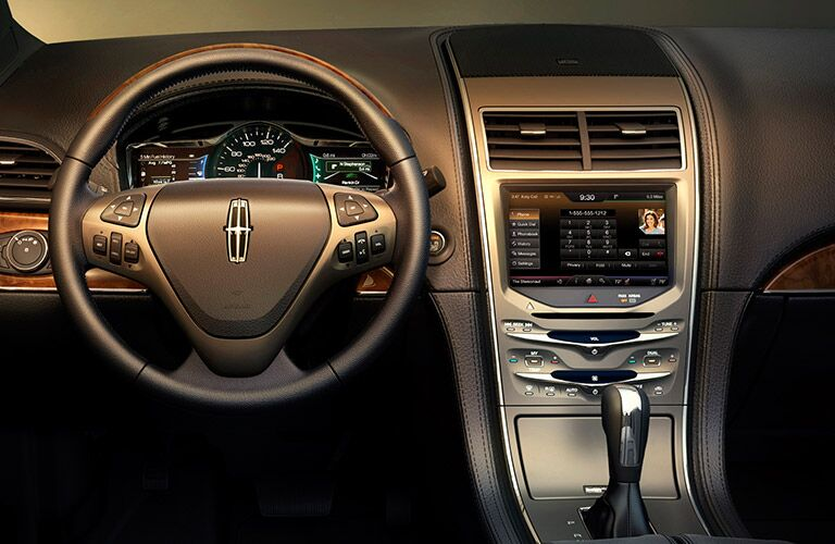 Plenty of space in a 2013 Lincoln MKX