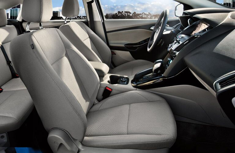 Good Cargo Room from the 2013 Ford Focus