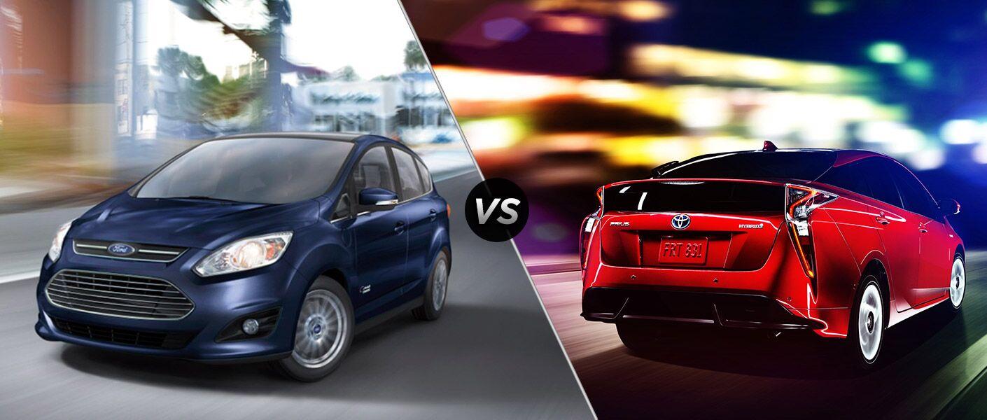 2016 Ford C-Max vs 2016 Toyota Prius