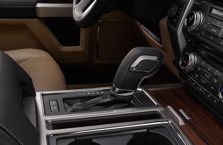 Shifter on the 2017 Ford F-150