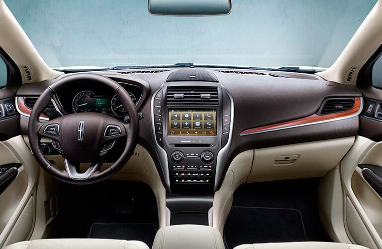 2016 Lincoln MKC Infotainment System
