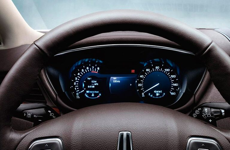 Dashboard on the 2016 Lincoln MKC