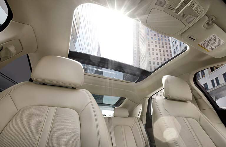 Sun Roof on the 2016 Lincoln MKZ
