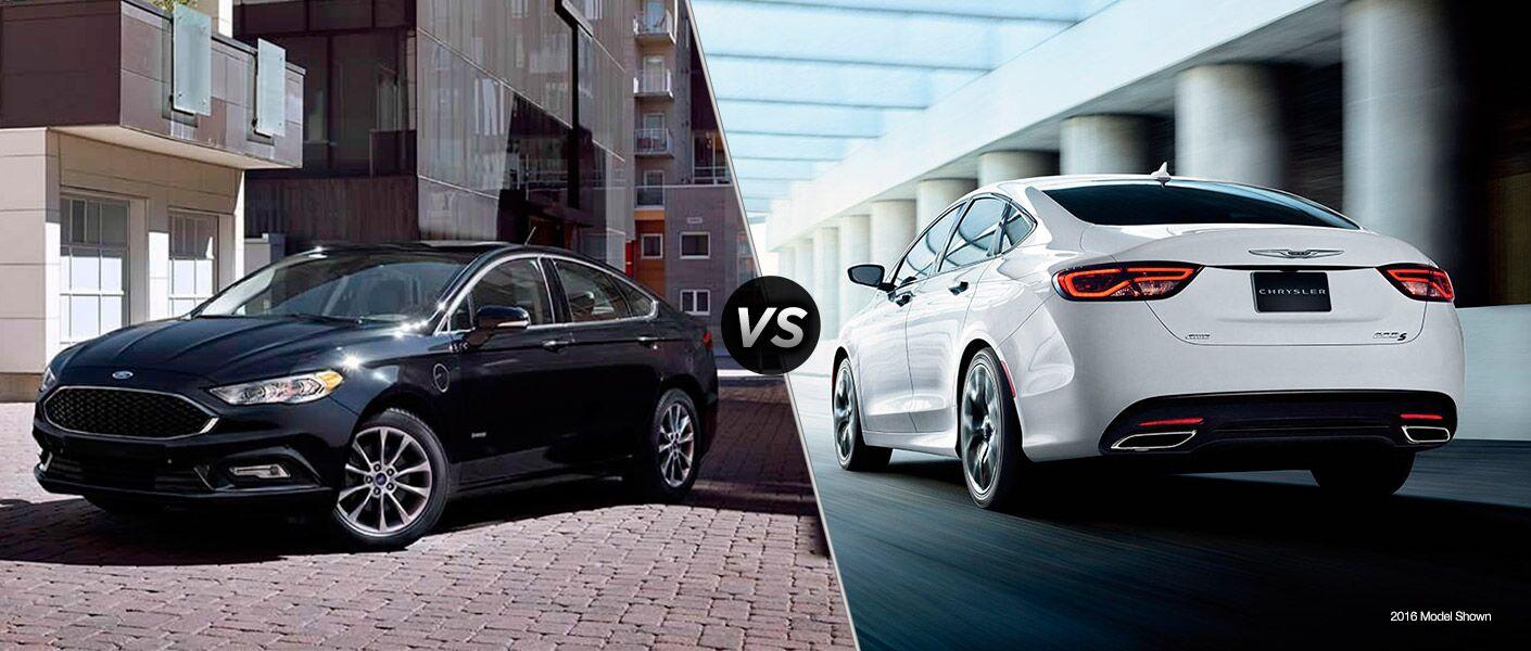 2017 Ford Fusion vs 2017 Chrysler 200