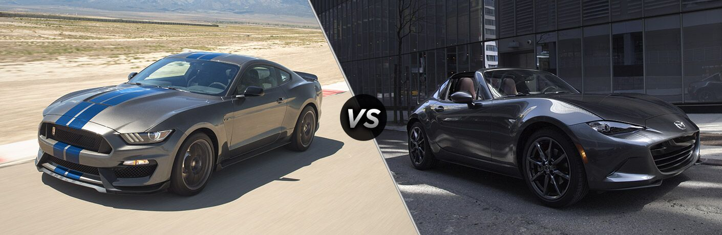 2017 Ford Mustang vs 2017 Mazda Miata