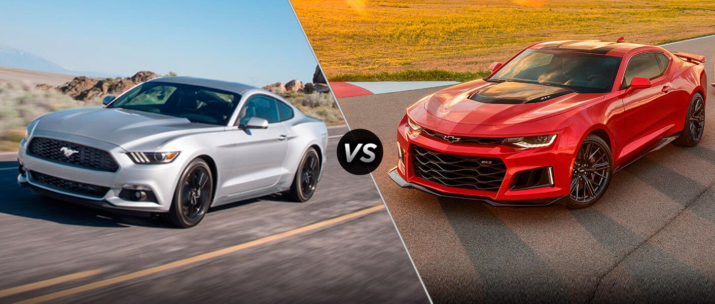 2017 Ford Mustang vs 2017 Chevy Camaro