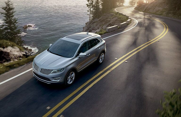 2017 Lincoln MKC driving on the road