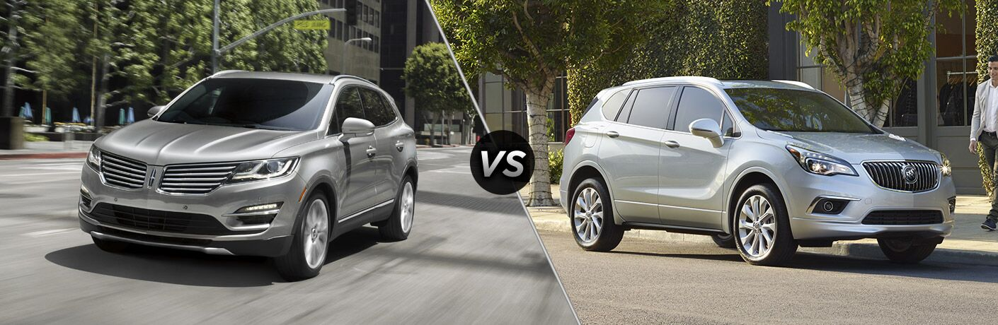 2017 Lincoln MKC vs 2017 Buick Envision