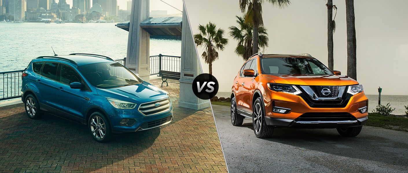 2017 Ford Escape vs 2017 Nissan Rogue