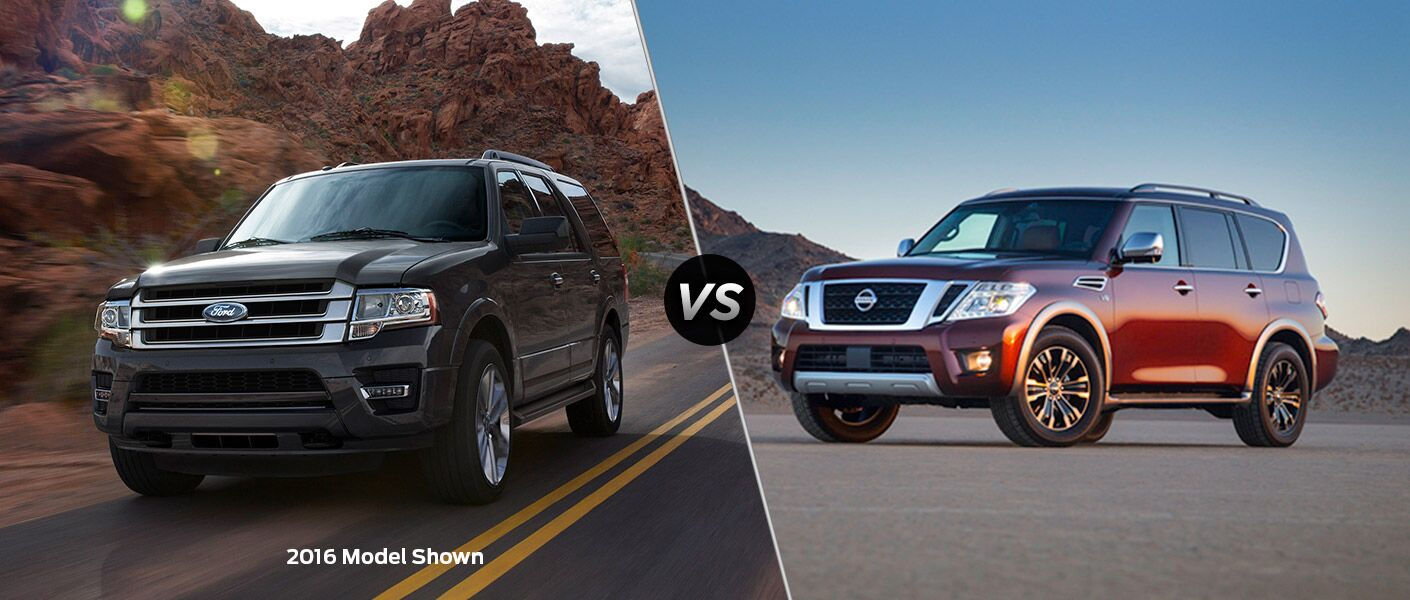 2017 Ford Expedition vs 2017 Nissan Armada