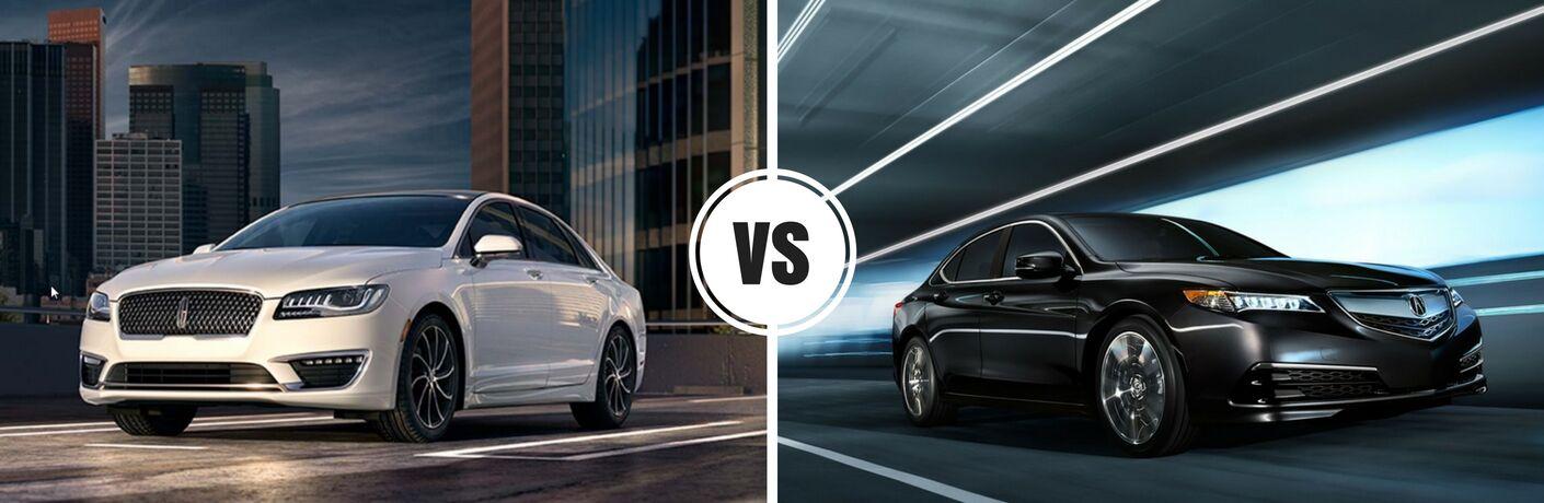 2017 Lincoln MKZ vs 2017 Acura TLX