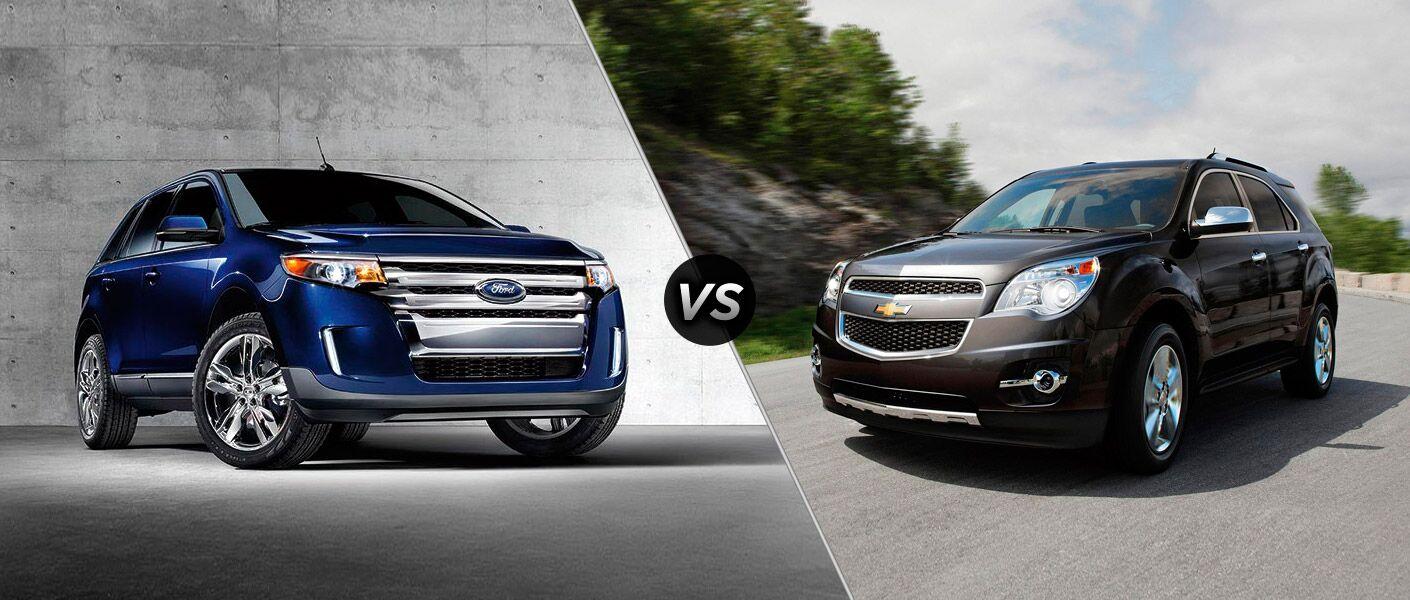 Lincoln Dealer Cincinnati >> 2015 Ford Edge vs 2015 Chevy Equinox