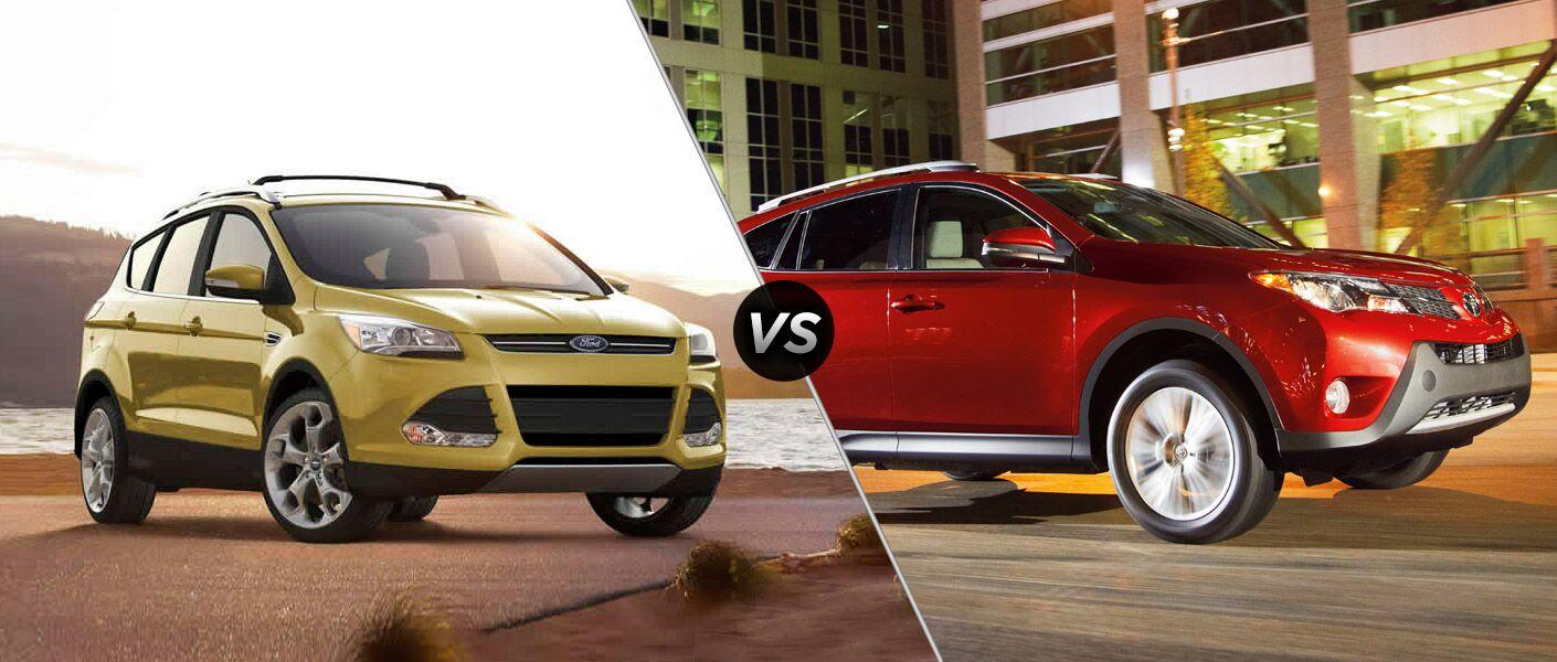 Ford Escape vs 2015 Toyota RAV4