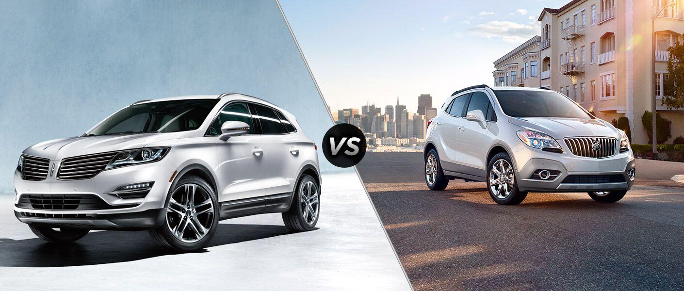 2015 Lincoln MKC vs 2015 Buick Encore