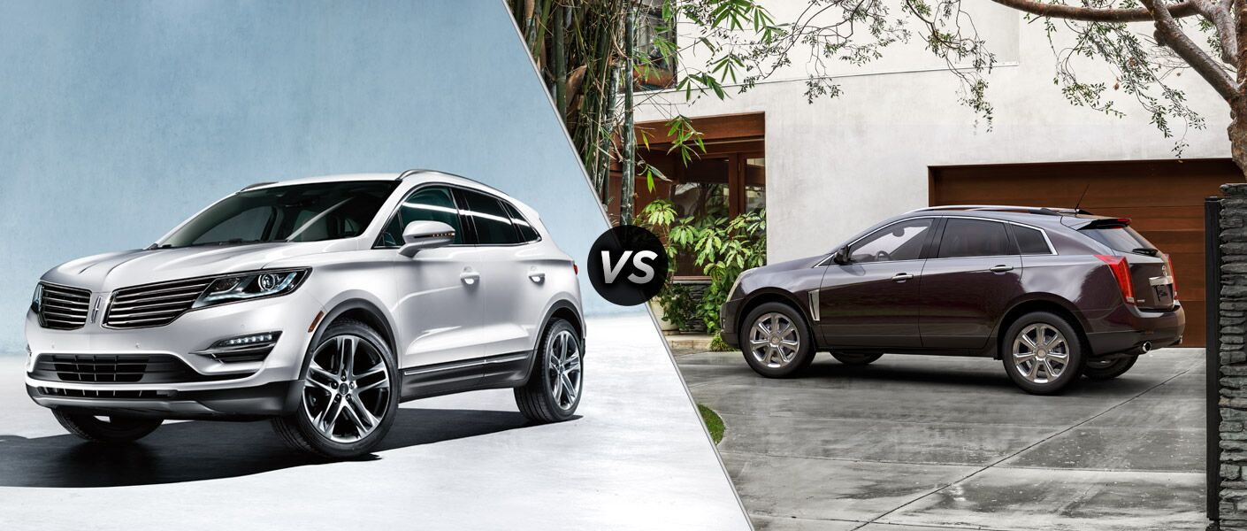 2015 Lincoln MKC vs 2015 Cadillac SRX