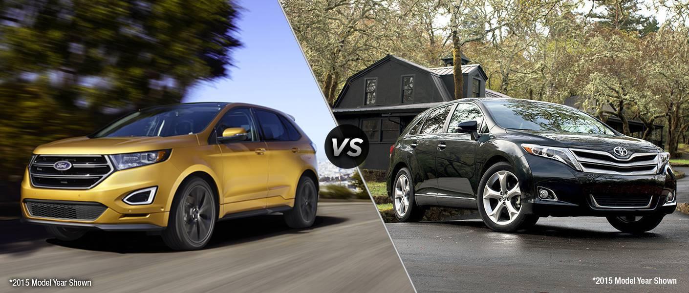 2016 Ford Edge vs 2016 Toyota Venza