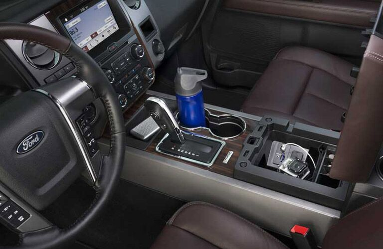 Interior Space on the 2017 Ford Expedition