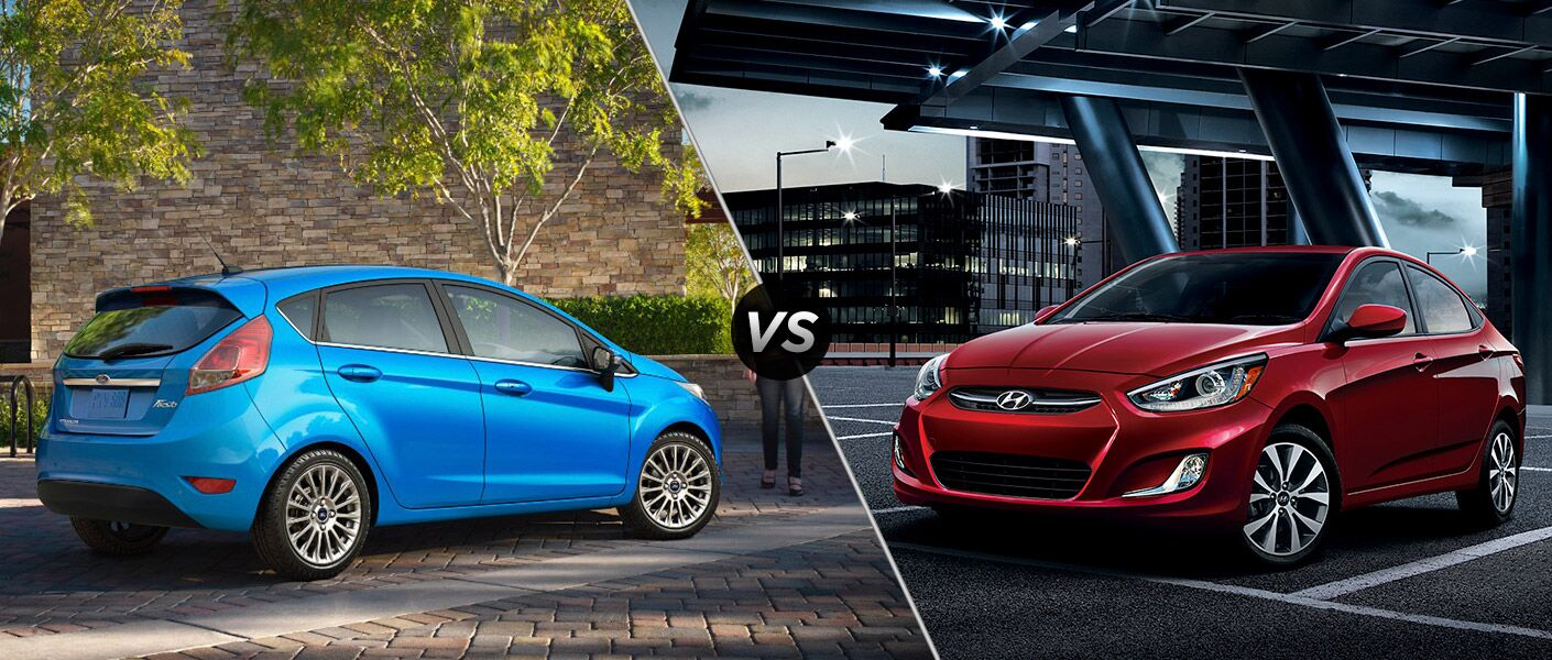 2016 Ford Fiesta vs 2016 Hyundai Accent