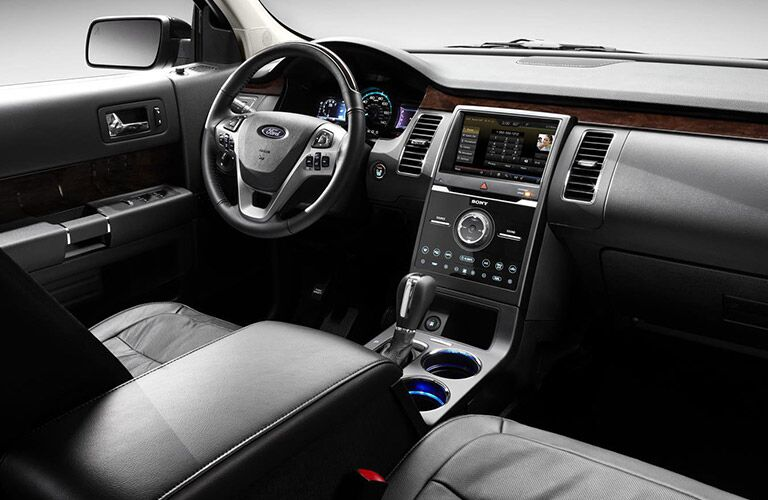 Black Interior on the 2016 Ford Flex