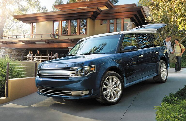 Blue Exterior on the 2016 Ford Flex