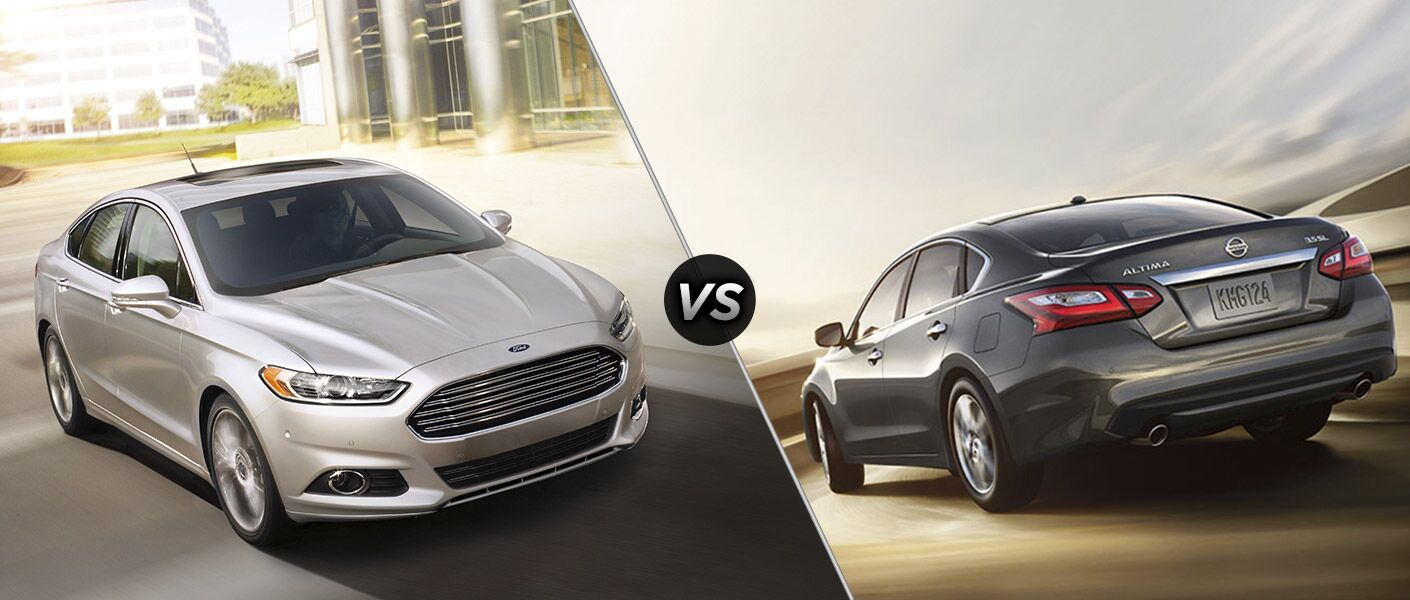 2016 Ford Fusion vs 2016 Nissan Altima