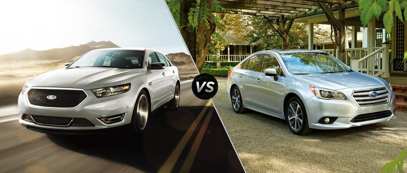 2016 Ford Taurus vs 2016 Subaru Legacy