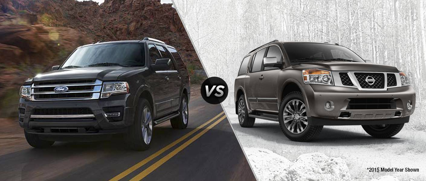2016 Ford Expedition Vs 2016 Nissan Armada