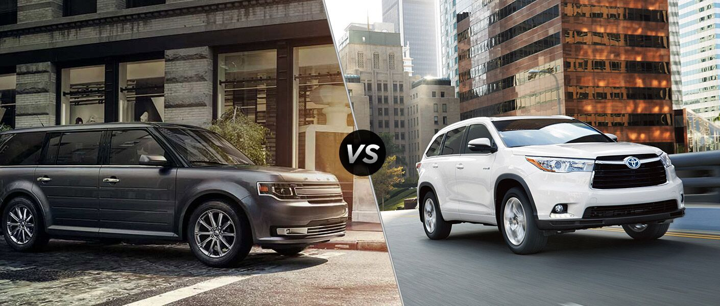 2016 Ford Flex vs 2016 Toyota Highlander