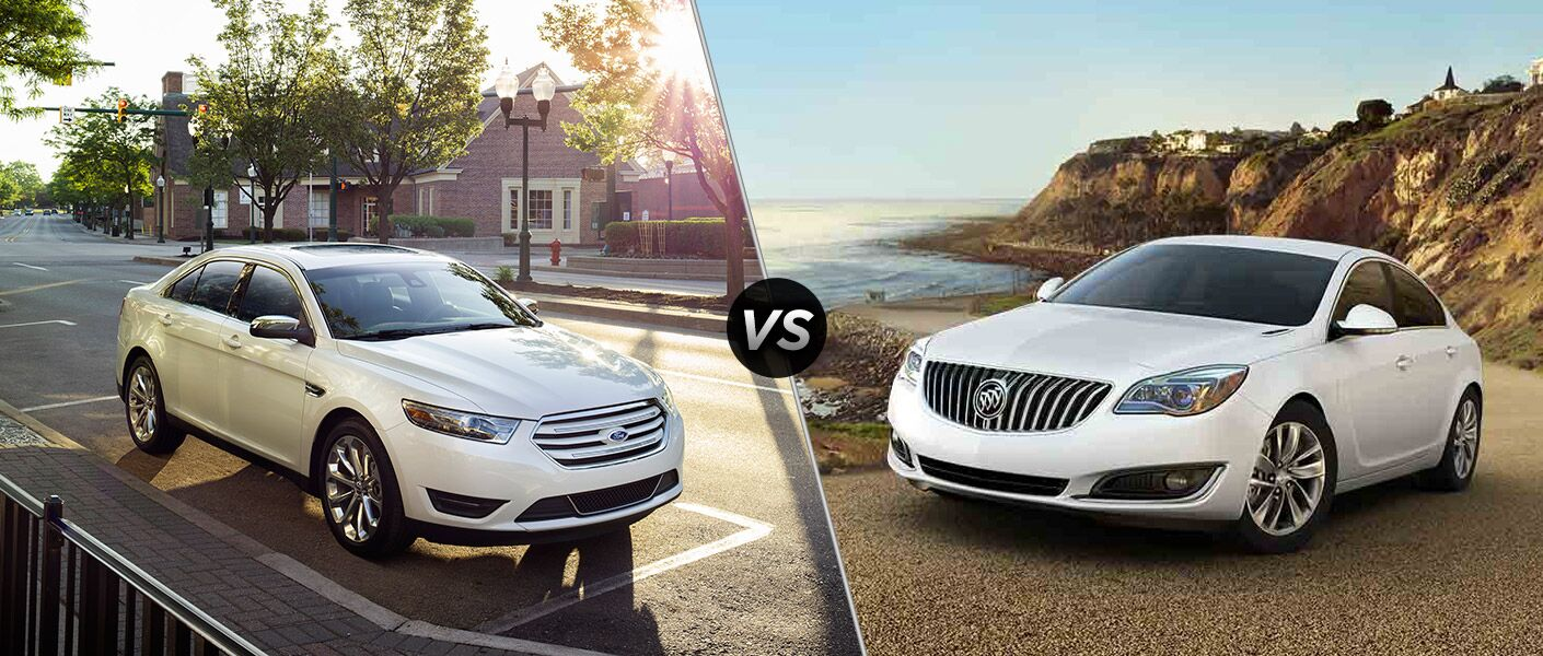 2016 Ford Taurus vs 2016 Buick Regal
