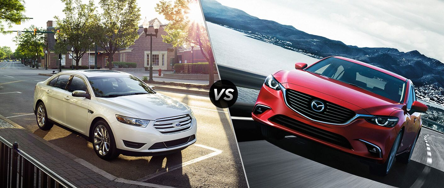 2016 Ford Taurus vs 2016 Mazda6