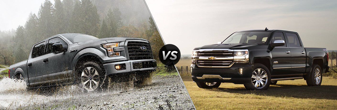 2017 Ford F-150 vs 2017 Chevy Silverado 1500