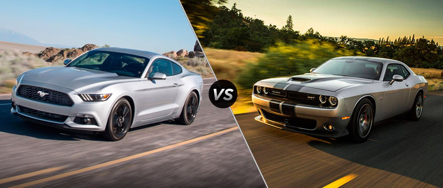 2017 Ford Mustang vs 2017 Dodge Challenger