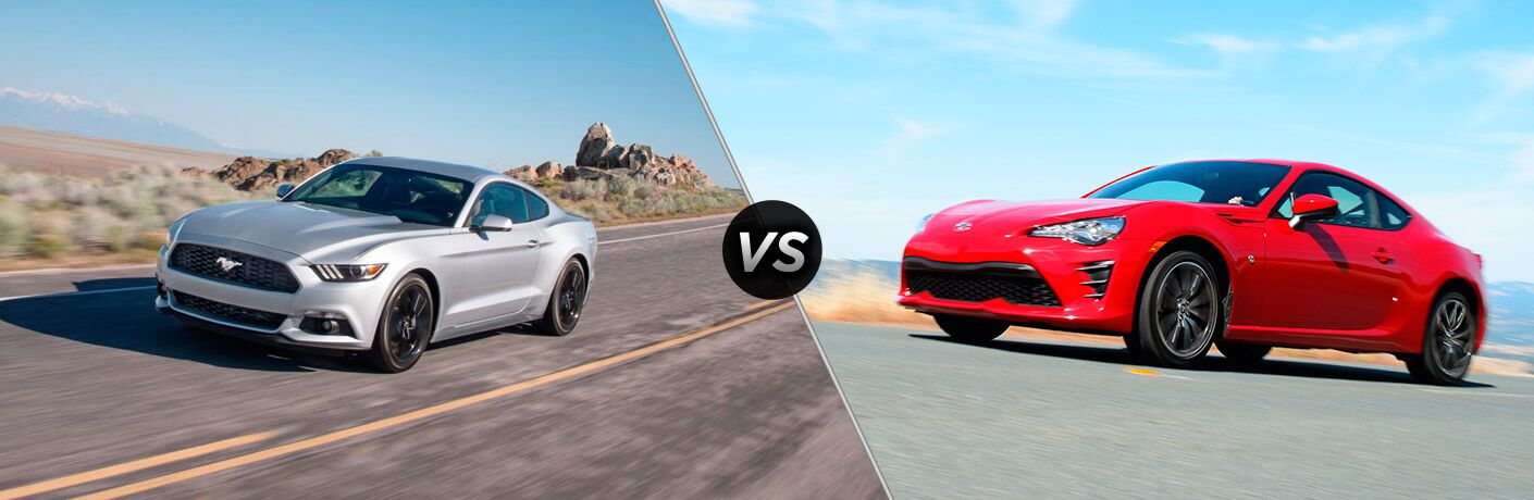 2017 Ford Mustang vs 2017 Toyota 86
