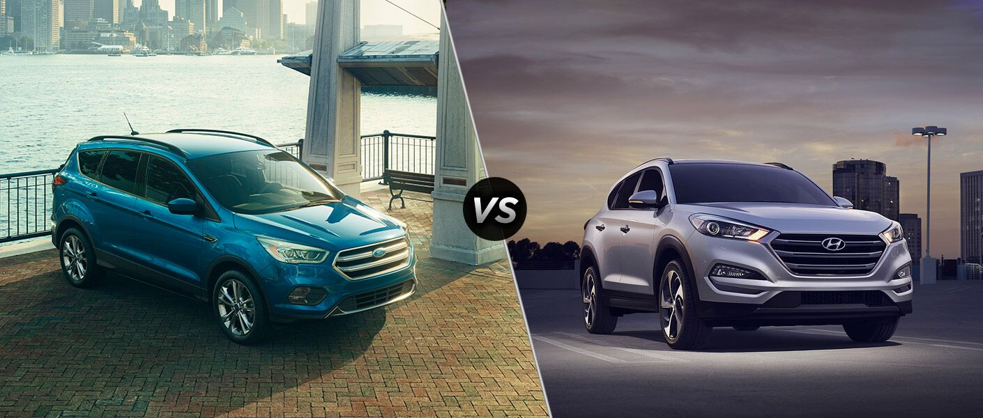 2017 Ford Escape vs 2017 Hyundai Tucson