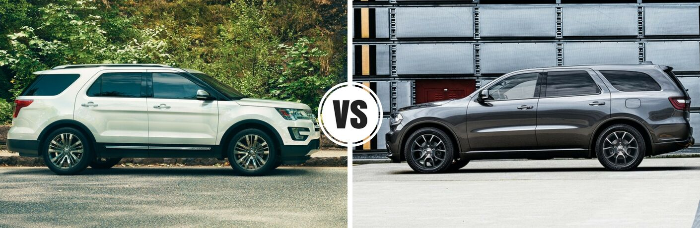 2017 Ford Explorer vs 2017 Dodge Durango