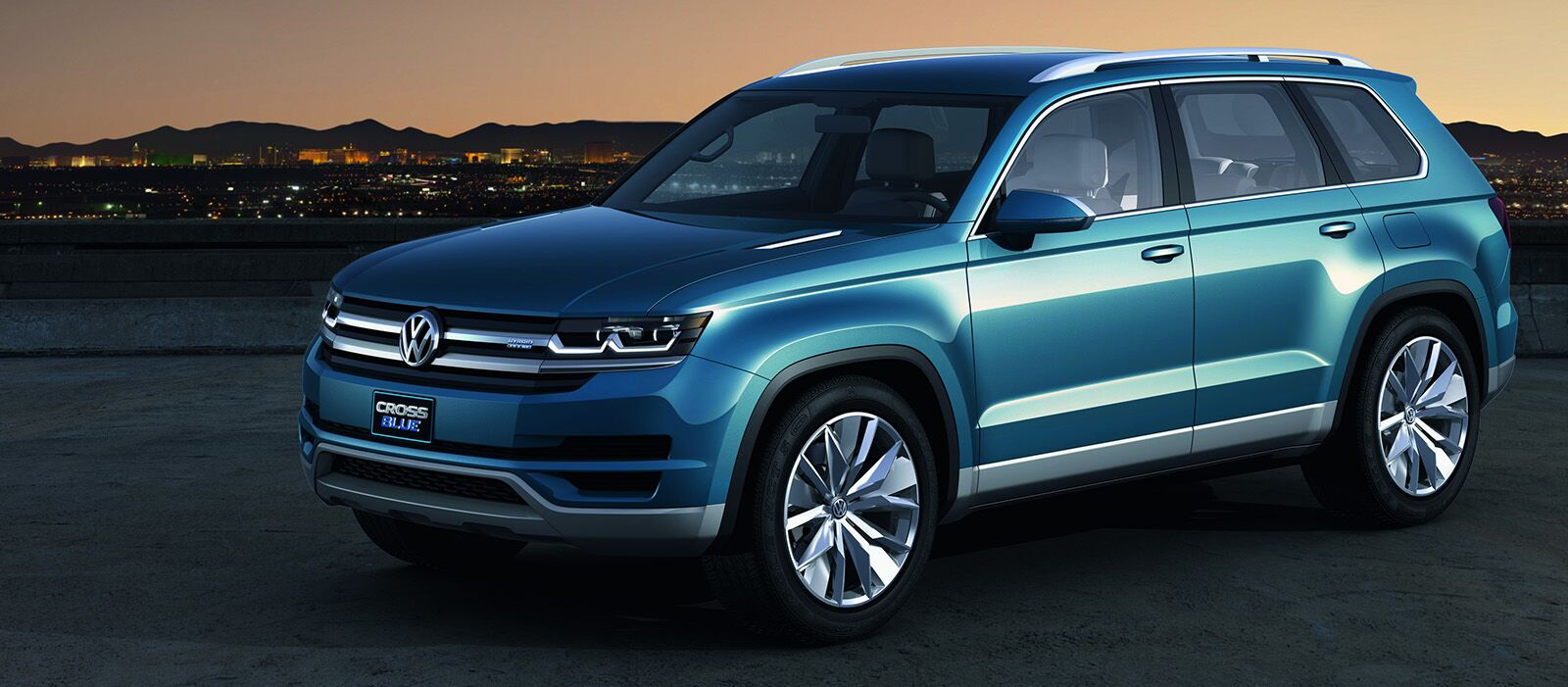 volkswagen s new three row suv the crossblue. Black Bedroom Furniture Sets. Home Design Ideas