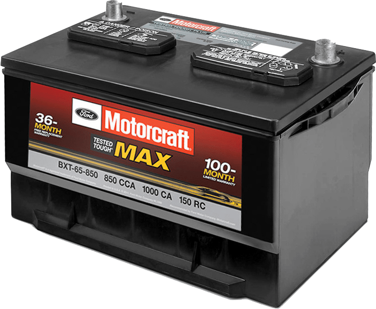Motorcraft Tested Tough Max Battery