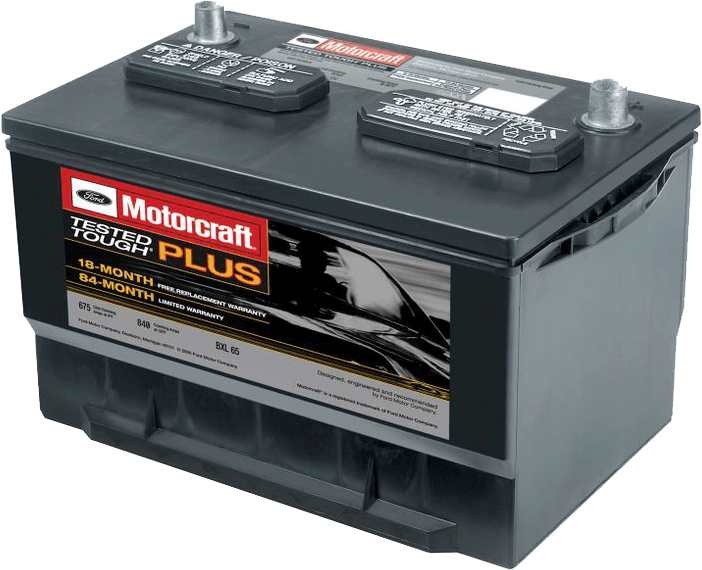 Motorcraft Tested Tough Plus Battery