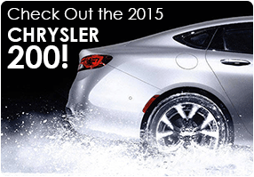 Check Out the 2015 Chrysler 200!