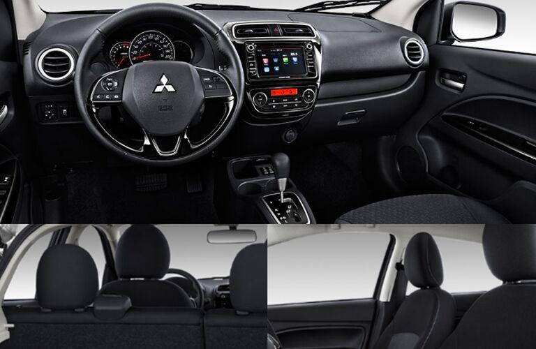 2017-Mitsubishi-Mirage-interior