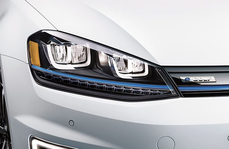 2016 VW e-Golf electric car front fascia design Portland OR