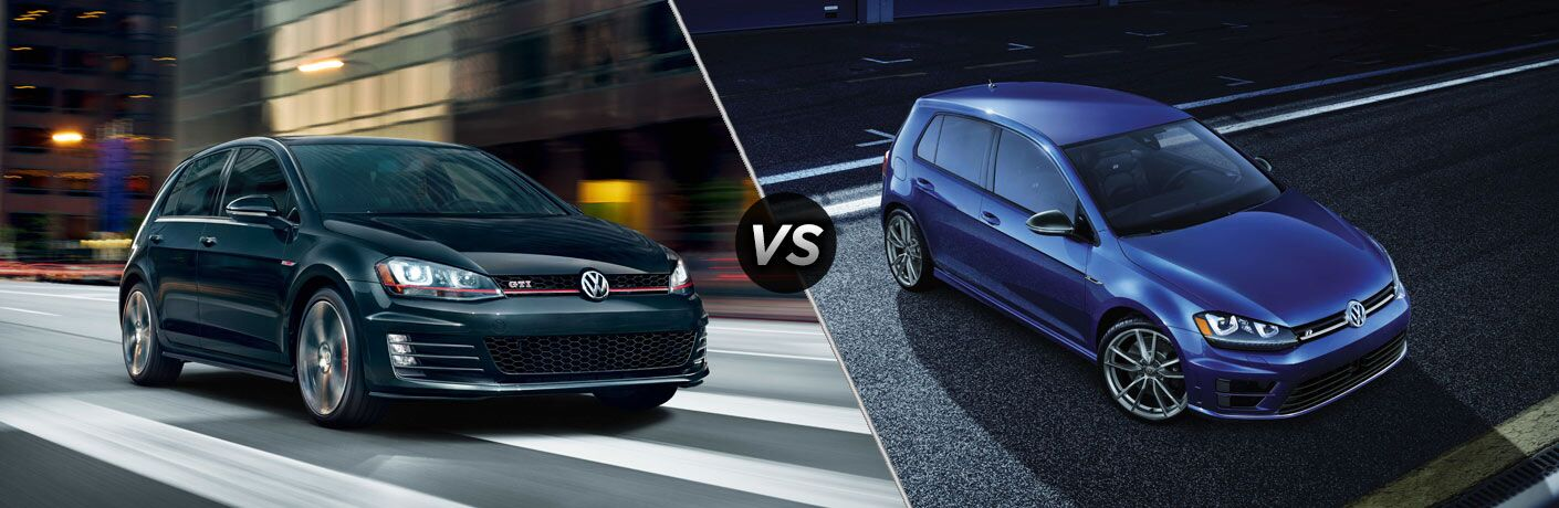 2018 Volkswagen Golf GTI vs 2018 Volkswagen Golf R