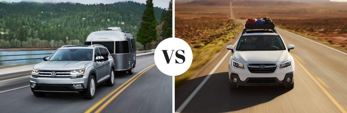 2018 Volkswagen Atlas vs 2017 Subaru Outback