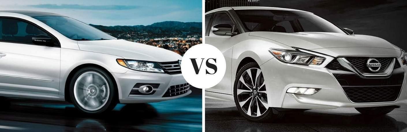 2017 Volkswagen CC vs 2017 Nissan Maxima