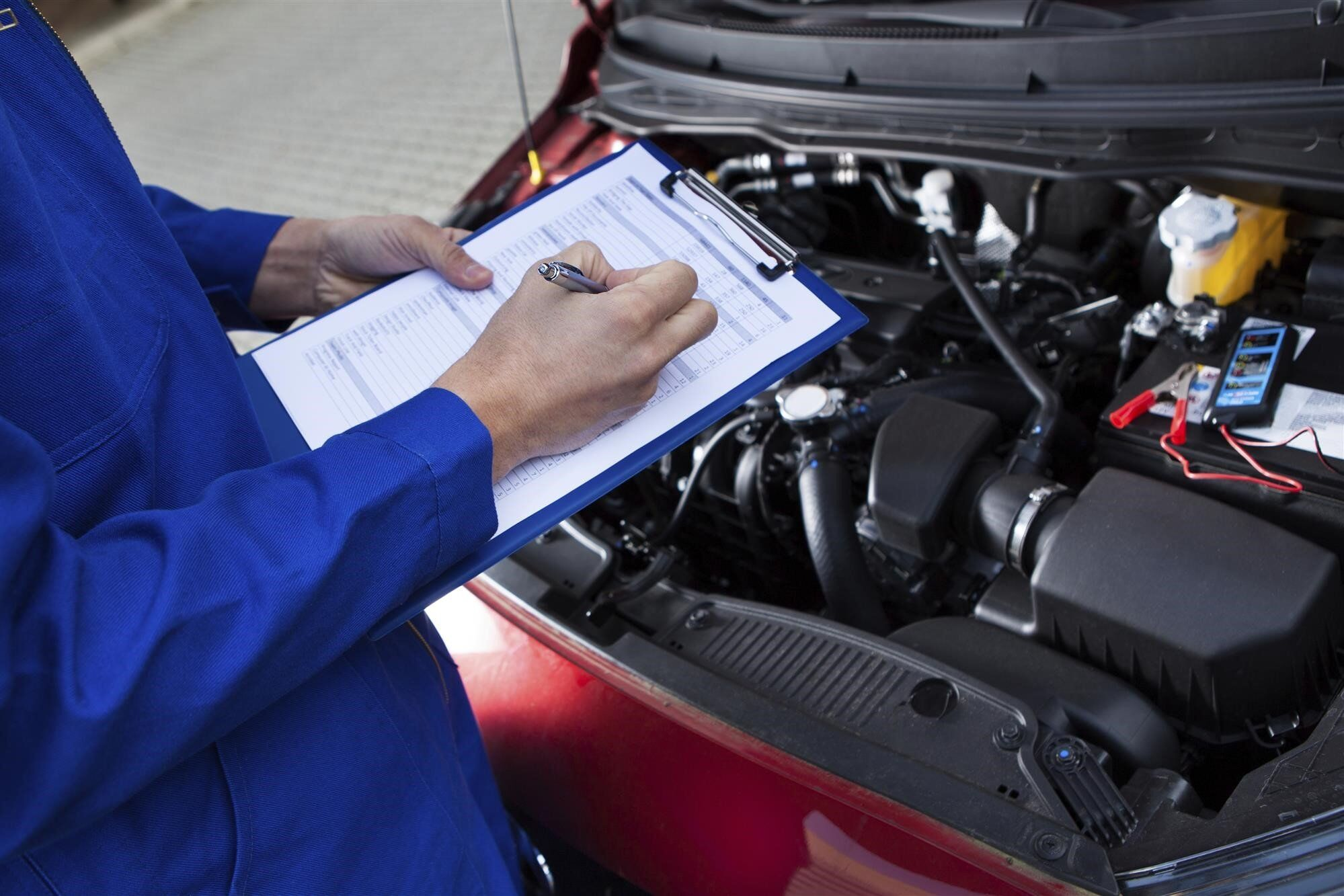 performing-vehicle-inspection