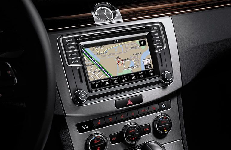 VW Car-Net App-Connect infotainment system in 2016 VW CC